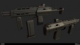 HL2 SMG remake LOWPOLY