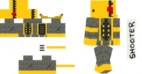 Robotic Rebellion MC Skin2