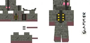 Robotic Rebellion MC Skin1