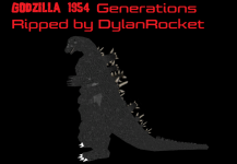 Godzilla 1954 from Godzilla Generations