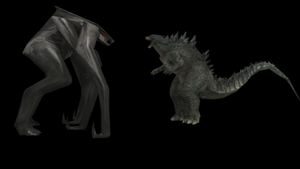 Godzilla 2014 vs MUTO