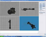 The GAU-19 from Black Rock Shooter (WIP)