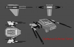Cerberus Defense Turret final concept