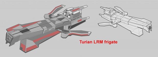 Turian LRM Frigate final concept