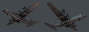 Cargo plane - Rust Work