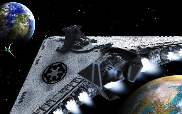 Imperial Attack On Corellia