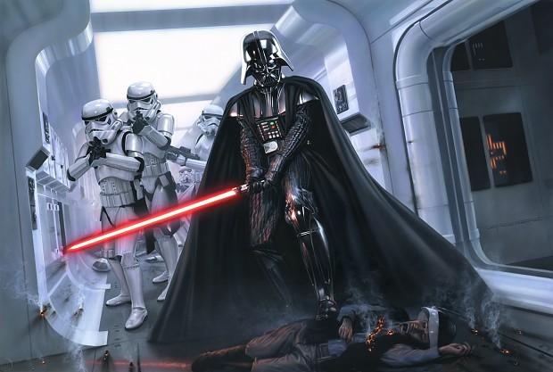Darth Vader strikes back