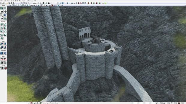 Helm's Deep UDK Work-in-progress