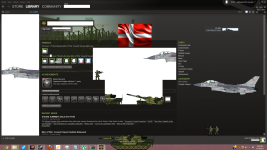 Help Denmark took over my Steam profile!