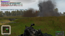 Enemy artillery inbound, over!