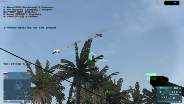 Operation Clean Sweep Dogfight