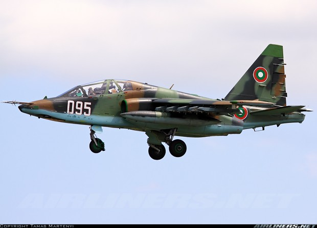 Su-25 (Bulgarian air force, 04.06.2012.)