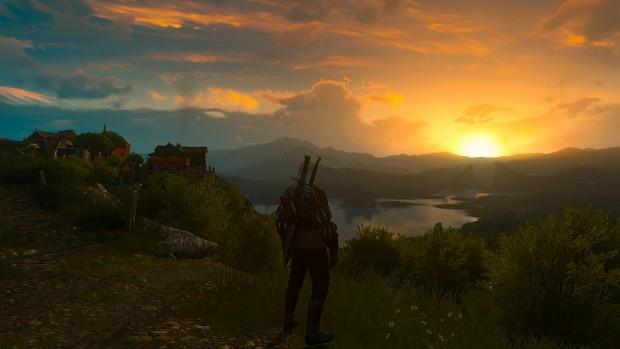 A beautiful sunrise in Toussaint
