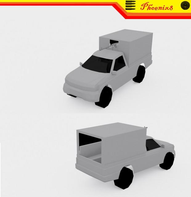Mitsubishi 4x4 Transport