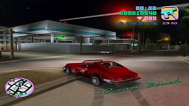 Playing a bit of Grand Theft Auto Vice City