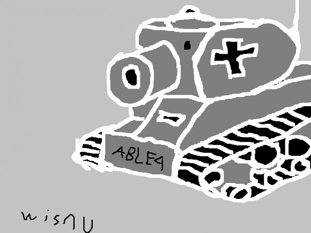 My Drawing of a Light Tank