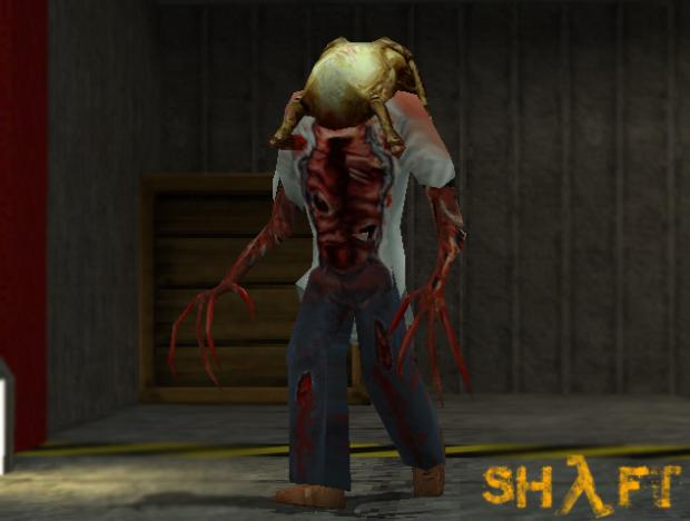 Zombie stalkin' around the offices