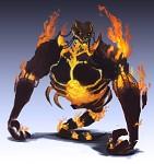 Firey Hulk