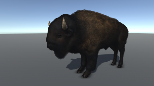 New fur shader and animal models