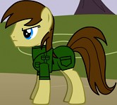 My pony, = Sgt Major. Gunfighter