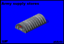 Army supply stores