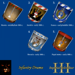 Imperial Splendour - infantry drums