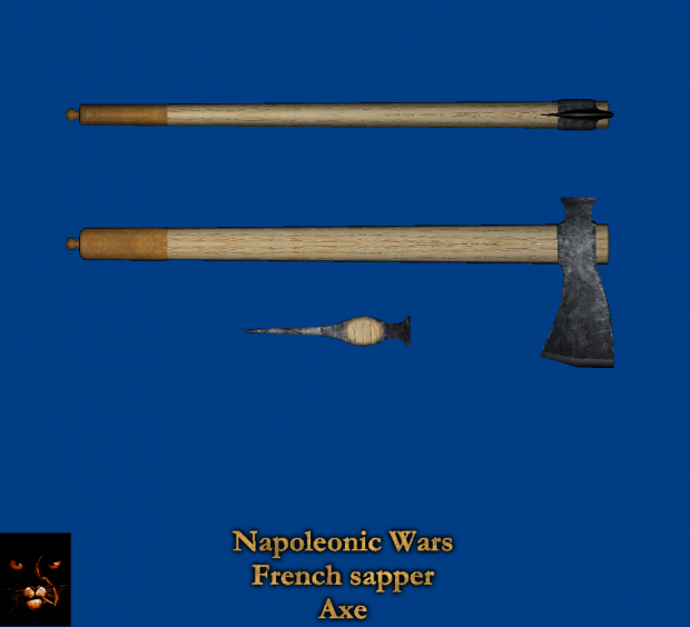 Napoleonic Wars : French sapper axe