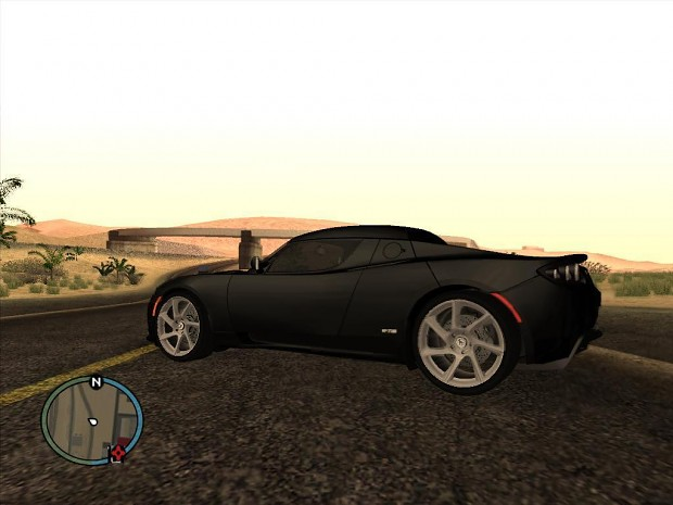 GTA San Andreas HD Road