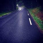 A road near where I live