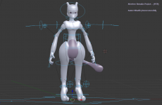 Mewtwo remake (WIP)