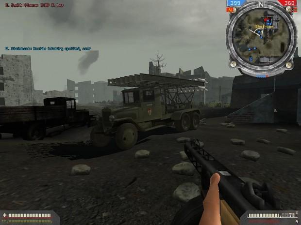 "ZIS-6 ""Katyusha"" MLRS in BGF 1.5"