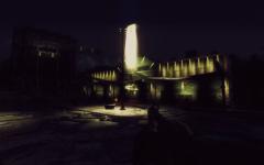 Fallout 3 at night