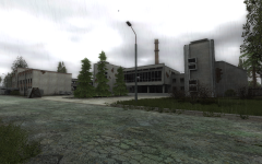 Factory in Dark Valley