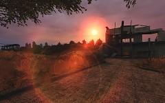 Lost Alpha - sunset