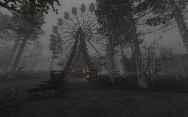 Ferris Wheel at Pripyat