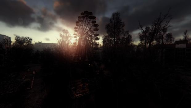 Sunrise at Pripyat