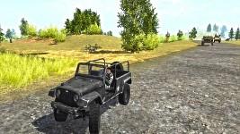 Black jeep wrangler car