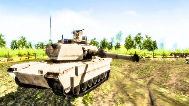 M1A2 Abrams TUSK - Balanced & Fixed