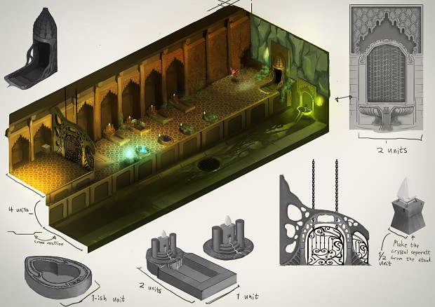 Dungeon Concept Art