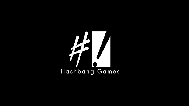 Hashbang Games Logo Wallpaper