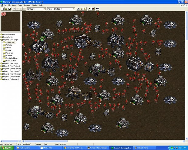 WORLD WAR Z IN STARCRAFT I