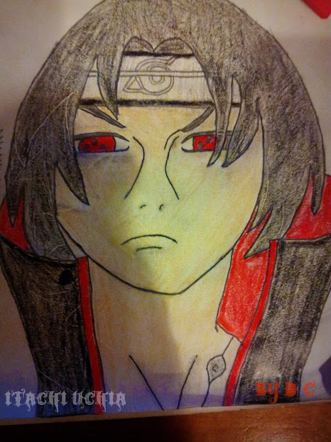 Itachi Uchia (hand-drawn)