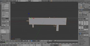 Machine gun model blender