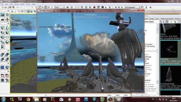 UT3 Halo forge
