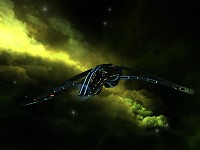 STO Mirror Universe Dhelan Warbird Retrofit