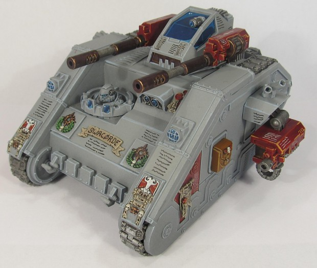 Leman Russ with a Storm Raven turret