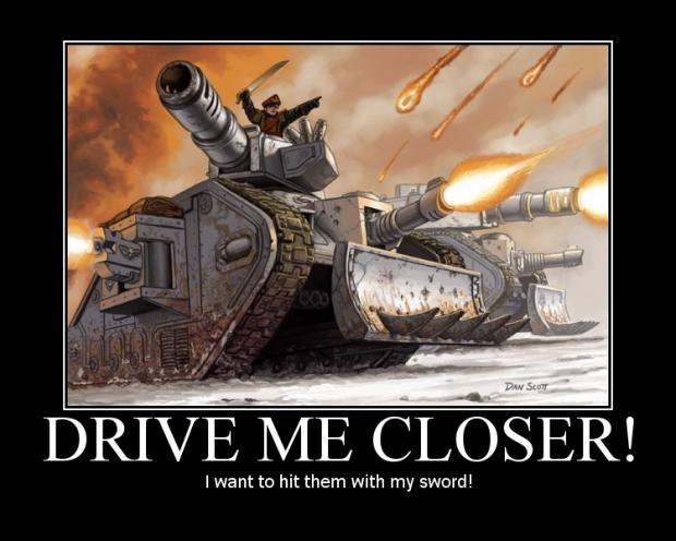 Drive me closer