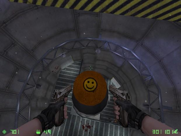 Smiling Missile Nose in Secret War Mission