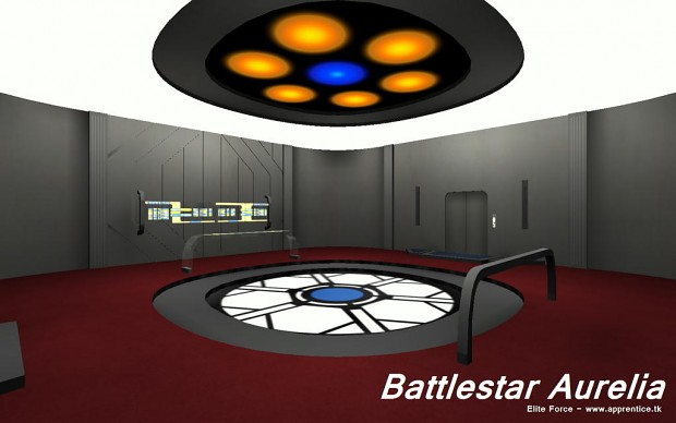 Battlestar Aurelia - Transporter room