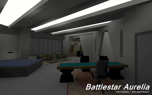 Battlestar Aurelia - CO Quarters